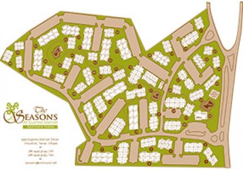 The Seasons – Siteplan