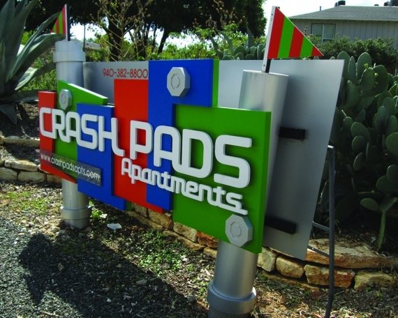 Crash Pads Monument