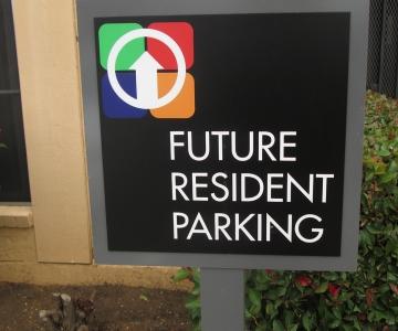 DN Parking Sign