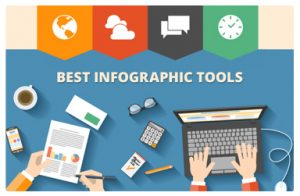 Graphic for best infographic tools