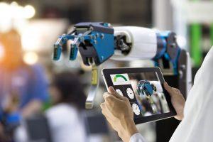 robotic arm and digital pad